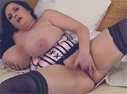 Sexy BBW am Fingern