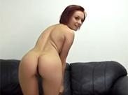 Redhead beim Pornocasting