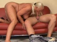 HD Sexfilm mit geiler Oma