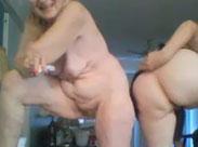 Verrückte Omas machen Webcamsex